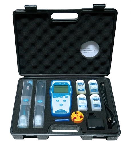 Picture of Ionix pH and EC Tester - Hand Held Premium Line