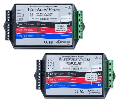 Picture of WattNode Advanced Pulse - kilowatt hour kWh energy meter