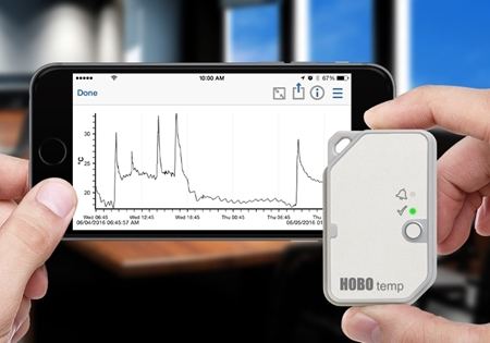 Picture of HOBO MX100 - Temperature Bluetooth Data Logger