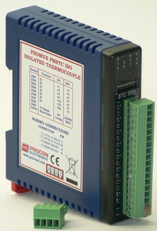 Picture of PM8TC ISO - 8 Thermocouple Input Module Isolated